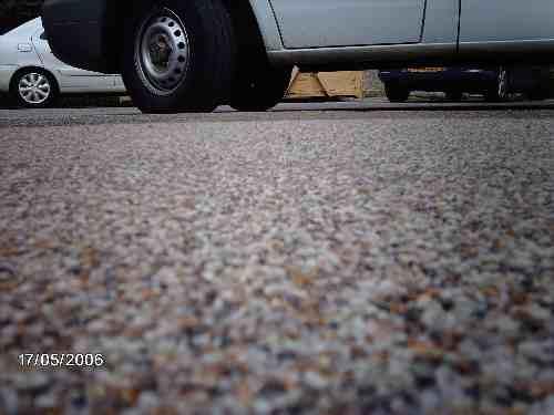 Abdichtung von Verkehrsflächen mit Beanspruchung